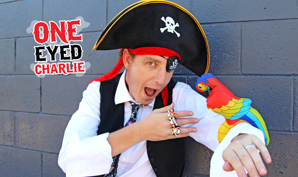 One Eyed Charlie Pirate Childrens Entertainer